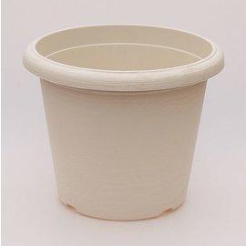gran pote Terrae Cilindro 35 cm blanco
