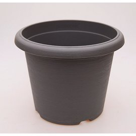 gran pote Terrae Cilindro 35 cm gris