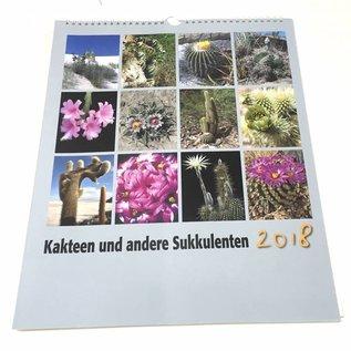 Kakteen und Sukkulenten Kalender 2018