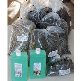 Offerta speciale del terreno e fertilizzante