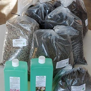 Offerta speciale del terreno e fertilizzante - Aktion Erde und Dünger