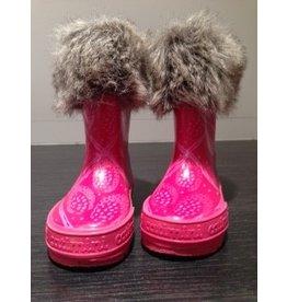 Catimini Roze laarzen met bond