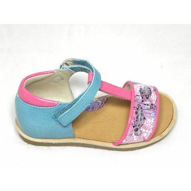 Manuela de Juan MJ sandaal blauw/roze
