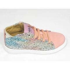 Maa MAA roze sneaker met glitters LAATSTE STUK ! 32