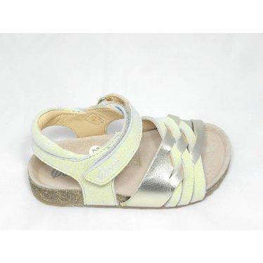 Ocra Ocra sandaal goud/geel