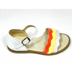 Jeune fille en fleur Jff sandaal glitter/tricolor UV