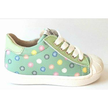 EB Sneaker mint met gekleurde bolletjes 20.21.22.23.24.25