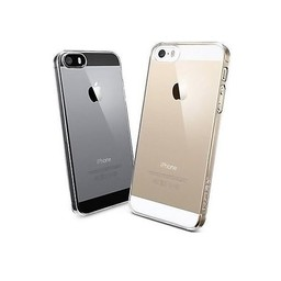 Crystal transparant plastic hoesje iPhone 5 / 5s