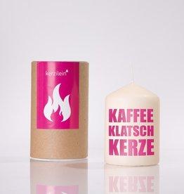 """KERZILEIN / KLEIN: """"Kaffeeklatsch"""" rosa"""
