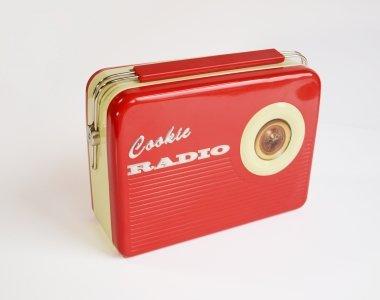 StyleBox Retro Radio - rot