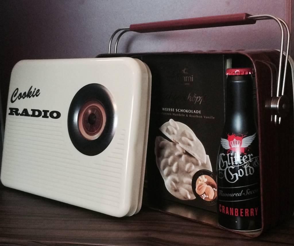 StyleBox Retro Radio - creme