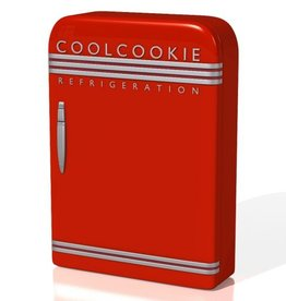StyleBox Retro Kühlschrank - rot
