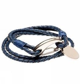 "Armband ""Riviera blau"""