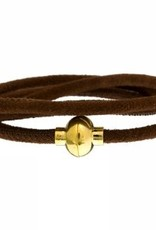 "Loop Armband ""braun"""