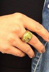 "Ring ""Eule gold"""