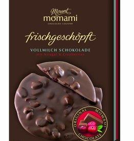 Frischgeschöpfte Vollmilch Schokolade - Nougat & Cranberries