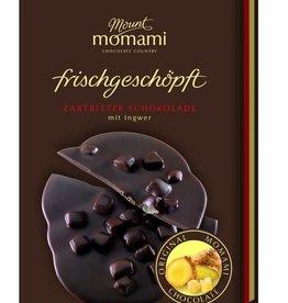 Frischgeschöpfte Zartbitter Schokolade - Ingwer