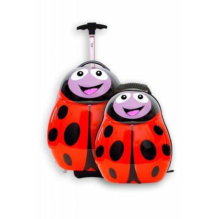 The Cuties and Pals Kinderkoffer Polka het lieveheersbeestje