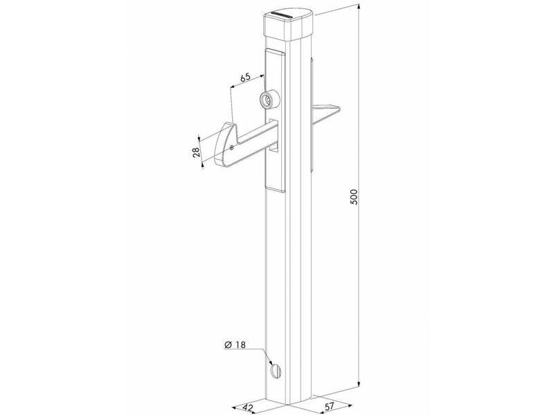 IGC | Aluminium poortvanger