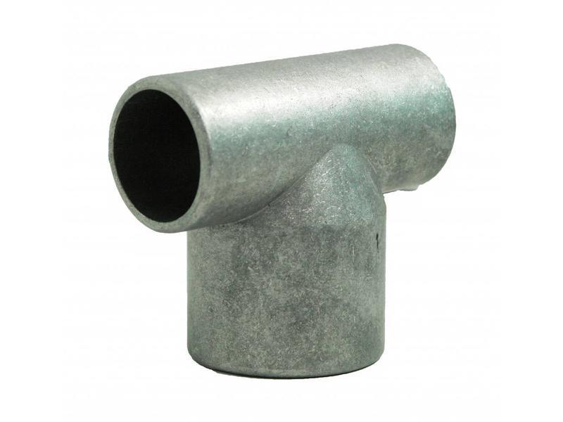Aluminium T-Kop Ø 42/60/42