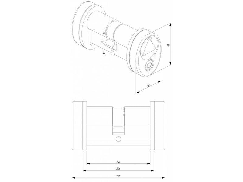 3012-POC-T14 | Driehoekscilindersetje