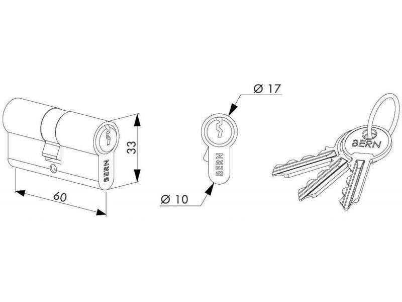 3012-60-STD | 60 mm cilinder