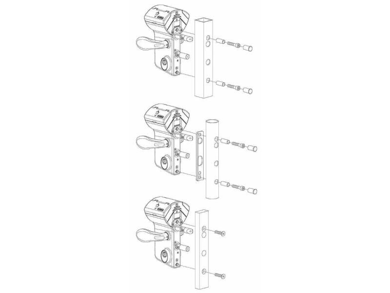 LMKQ V2 | Mechanisch codeslot - rond profiel