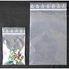 LDPE-Druckverschlußbeutel, Format: 220 x 310 mm (B x H bis zum Verschluß), 90 my Stärke (EXTRA STARK), transparent, unbedruckt