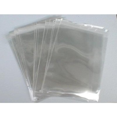 PP-Adhäsionsverschlußbeutel, Format: 125 x 170 + 25 mm (B x H + Klappe), DIN A6, 30 my Stärke, hochtransparent, hochglänzend, unbedruckt, ***