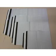 COEX - Adhäsionsverschlußbeutel, 250 x 350 + 40 mm, DIN C4, 70 my (1 VE = 1.000 St.) - Ausverkauf