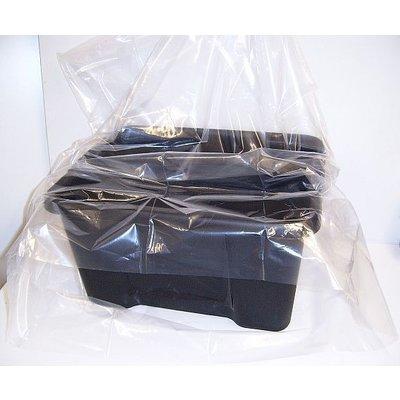 LDPE-Flachbeutel, transparent, Format: 250 x 400 mm (B x H), 100 my Stärke, unbedruckt