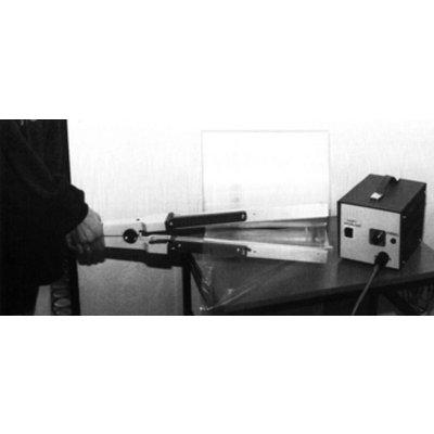 Folienschweißzange Schnabelform ZL 350, 340 mm Schweißnahtlänge, 3 mm Schweißnahtbreite (ohne Impulsgeber **)