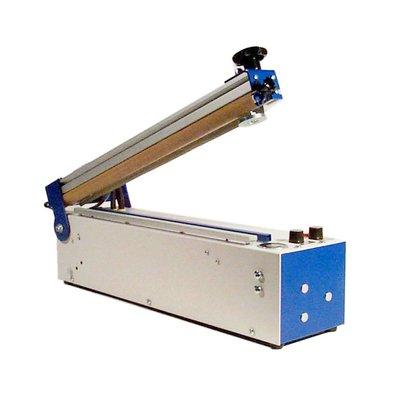Folienschweißgerät TS 401 HT mit 420 mm Schweißnahtlänge, 0,7 mm Schweißnahtbreite, Trenndrahtausführung mit Haltemagnet
