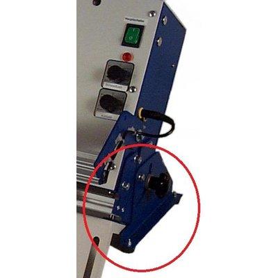 Gerätehalterung zum Schrägstellen des Gerätes (für alle TM-Geräte)
