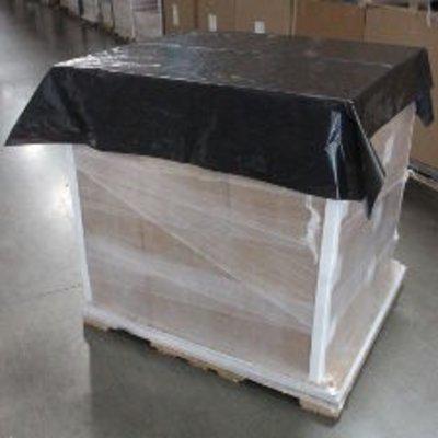 Palettenabdeckblätter, 1.200 x 1.600 mm, 40 my Stärke, LDPE-Folie schwarz eingefärbt, 200 St. per Rolle (= 1 VE)