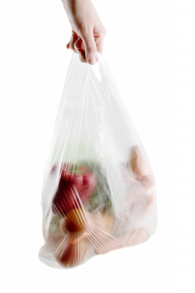 Plastik-Tragetaschen unbedruckt