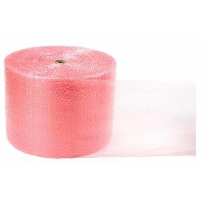 Antistatik Luftpolsterfolie, 600 mm Breite, 150 m Länge, 55 my, rosa-transparent (1 VE = 2 Rollen)