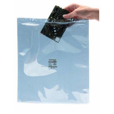 Metallisierte transparente Abschirmbeutel als Druckverschlußbeutel, 203 x 254 mm, 76 my, (1 VE = 1.000 St.)