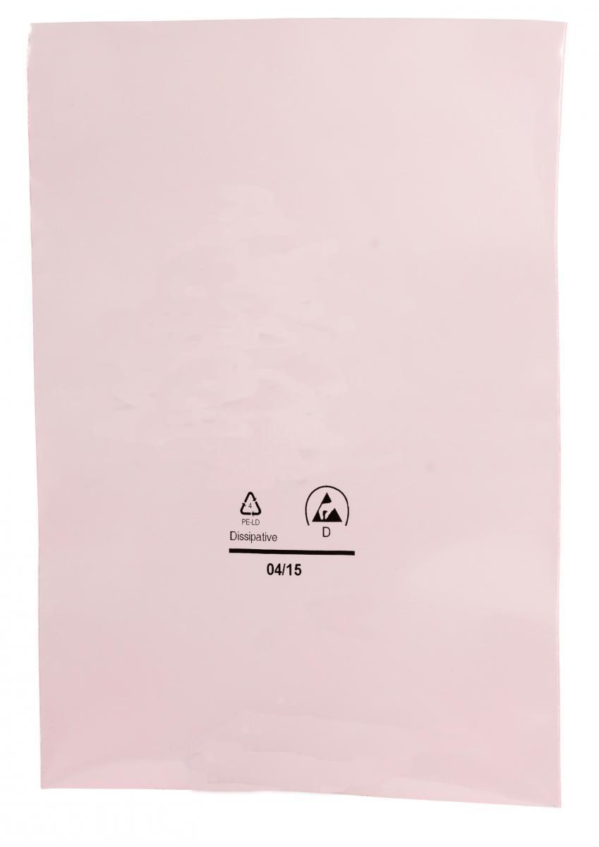 rosa Antistatik Flachbeutel