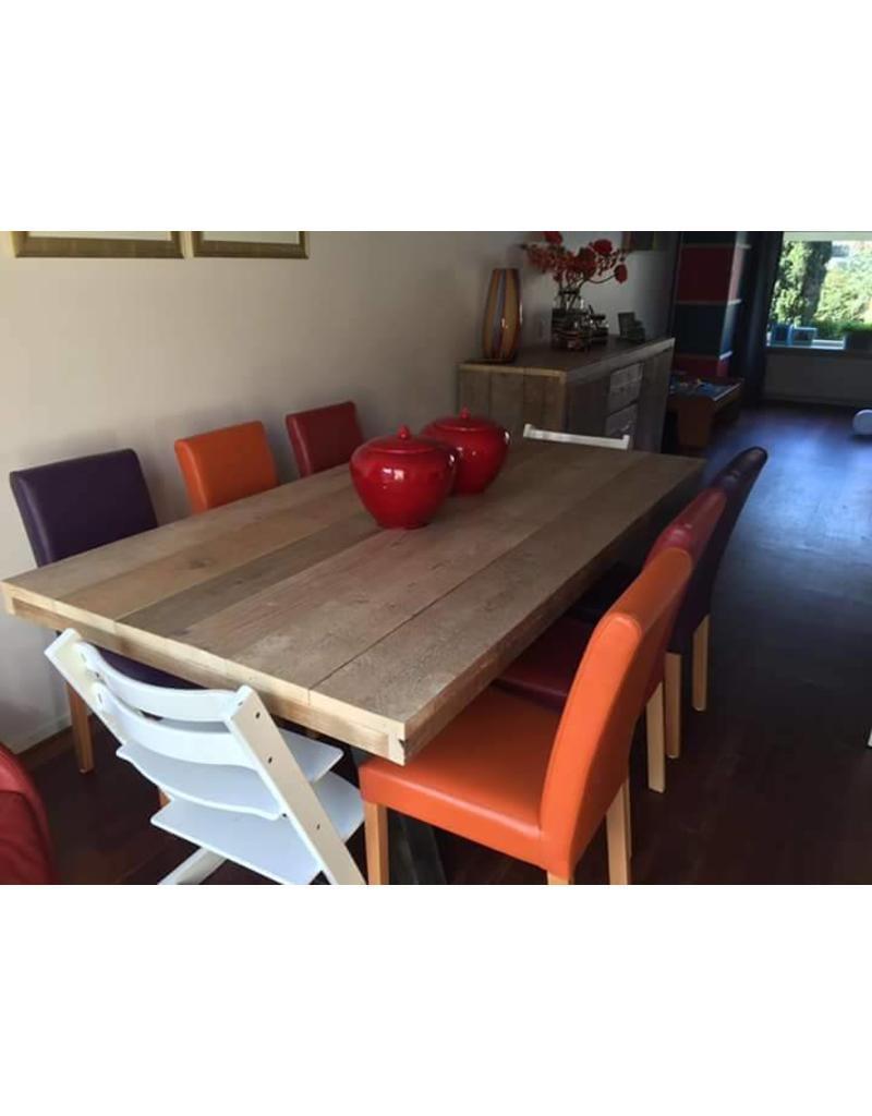 tafelblad 80 cm breed tot 300 cm lang steigerhout r de b meubels op maat. Black Bedroom Furniture Sets. Home Design Ideas