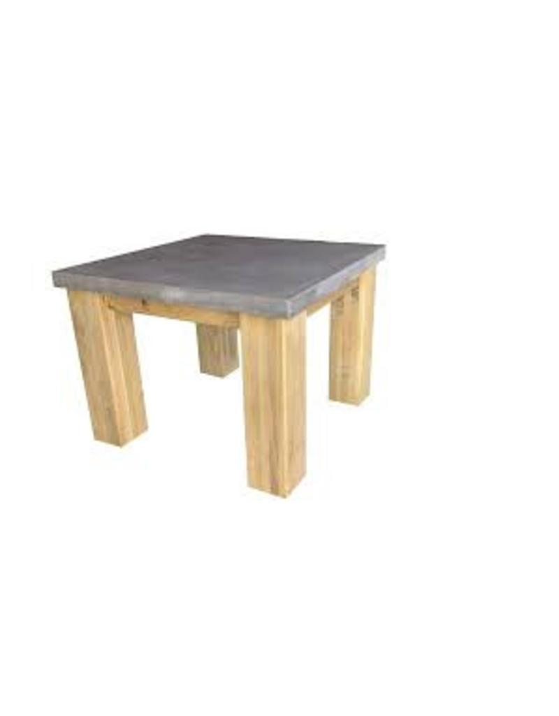Tafelblad 70 cm breed tot 150 cm lang - Boncreat Beton Ciré - 66 mm