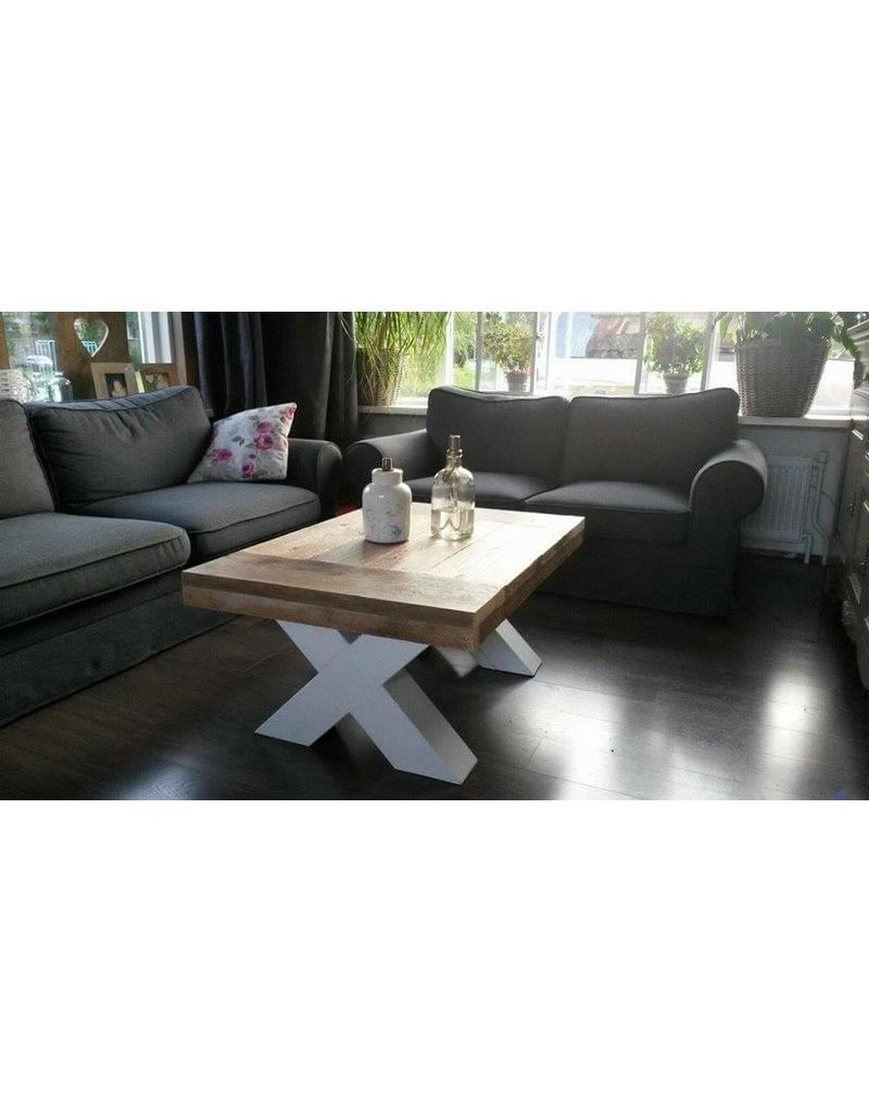 Tafelblad 40 cm breed tot 150 cm lang - Steigerhout