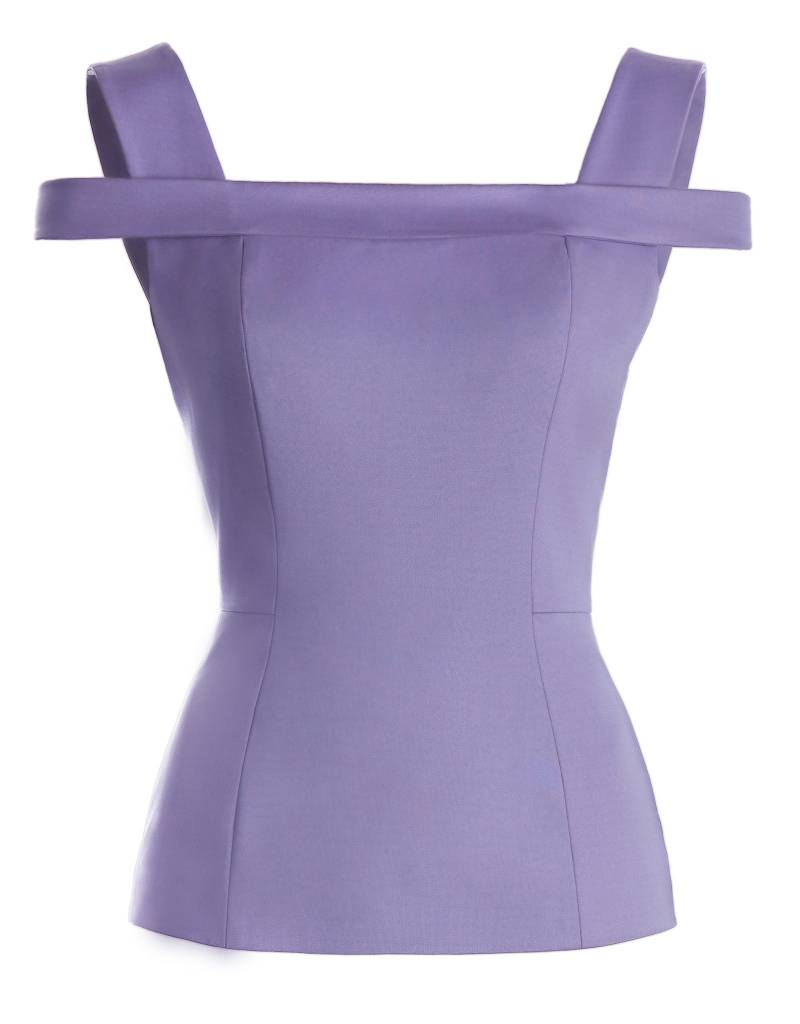 Tight Lilac Top