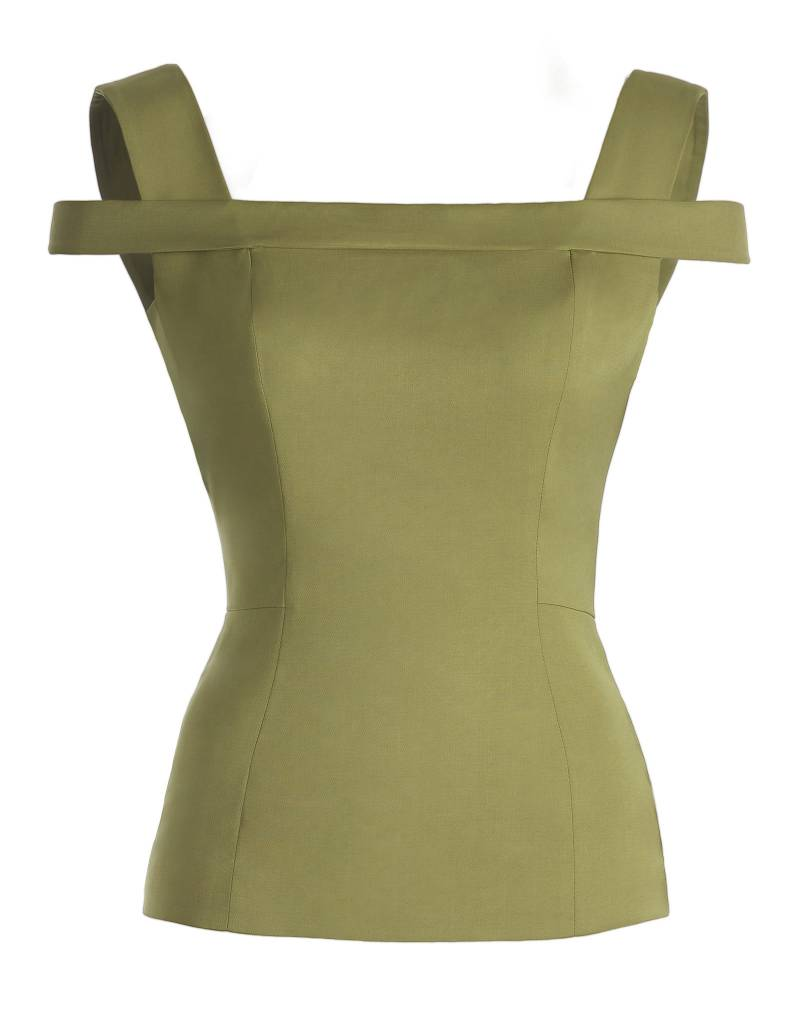 Tight Olive Green Top