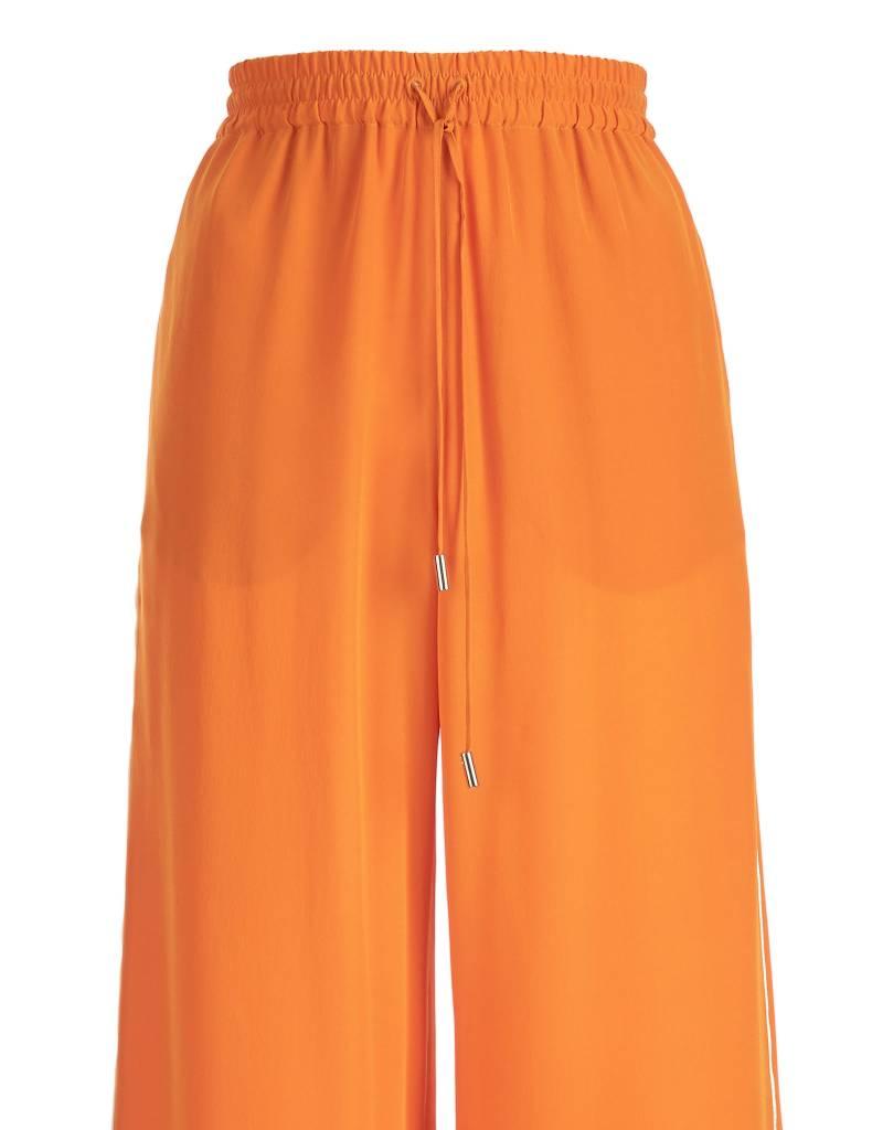Silk Orange Trousers