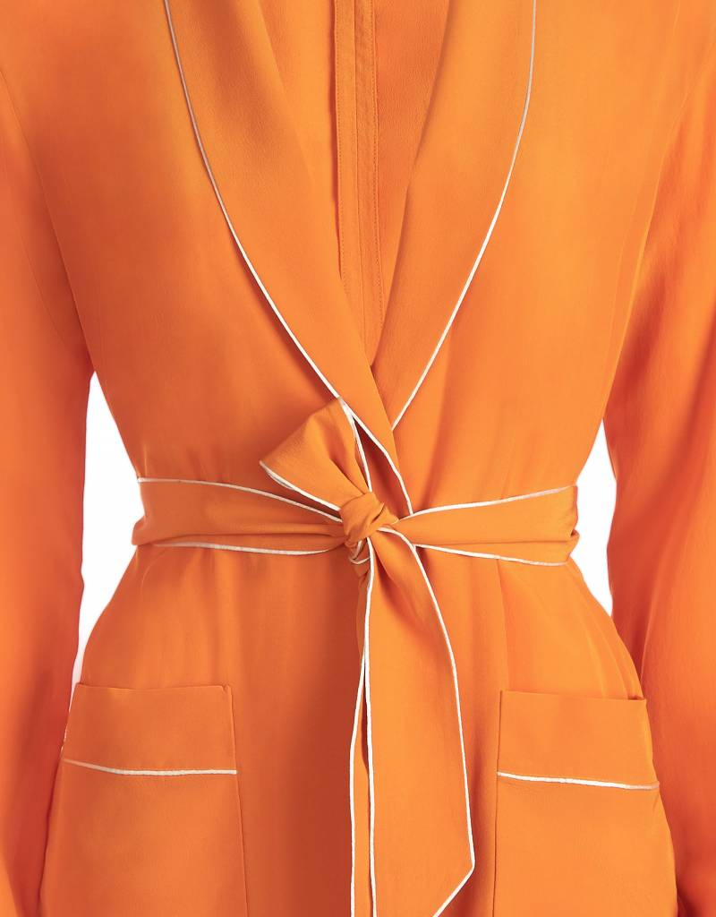 Silk Orange Jacket