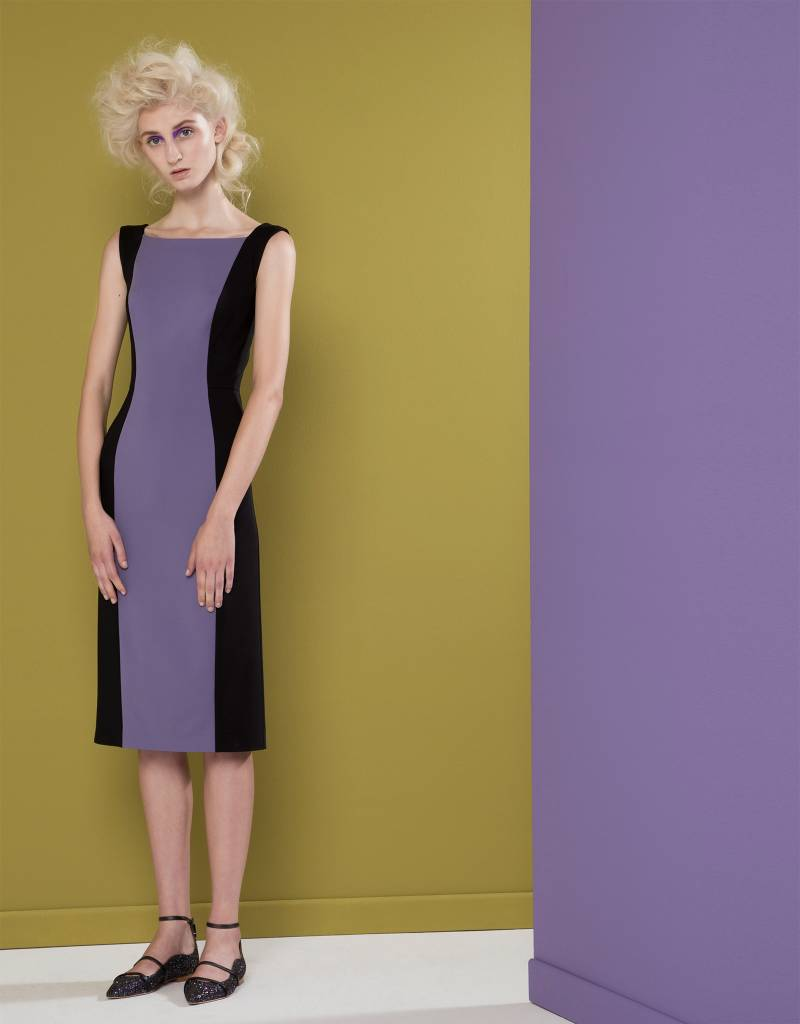 Black Lilac Dress