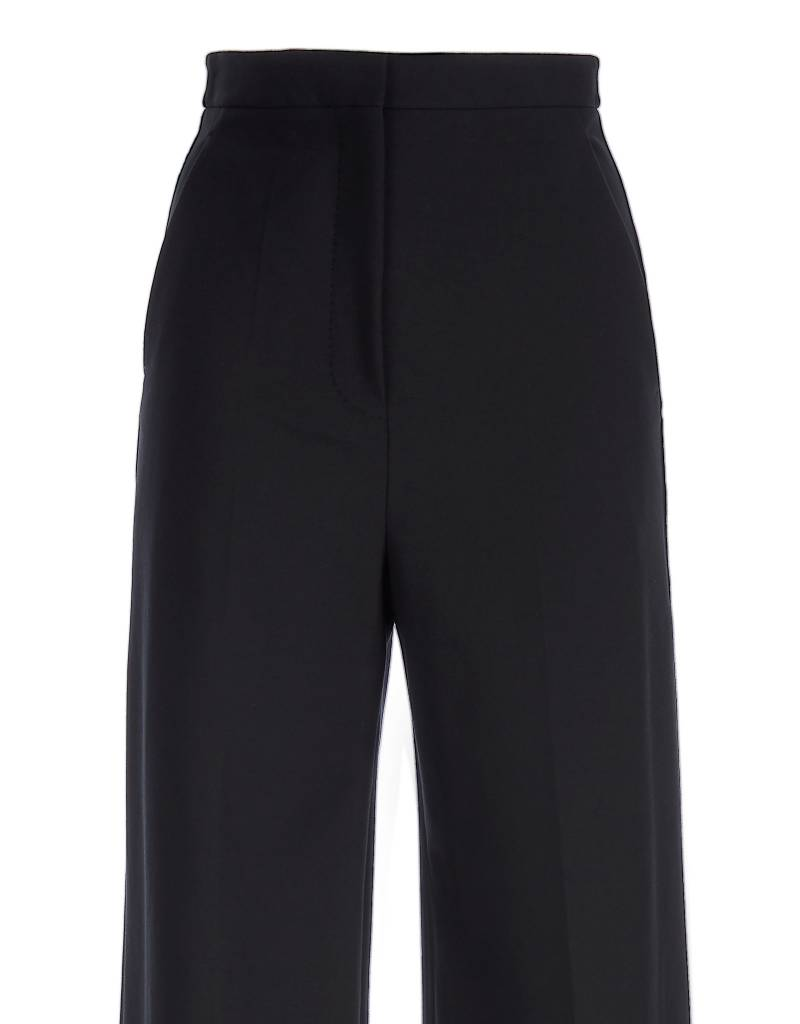 Black Split Trousers