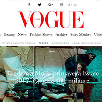 WINONAH - Vogue website - April