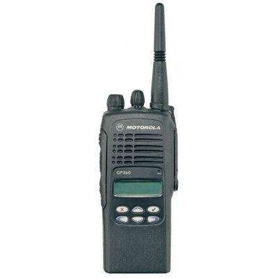 Motorola GP360 professionele portofoon (VHF/UHF) met LCD-display en menupad